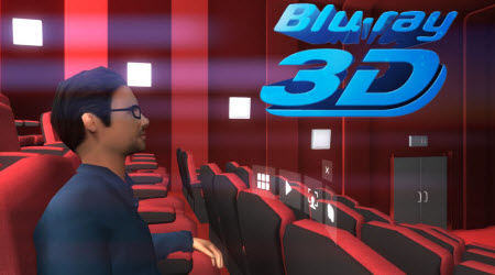 Get 3D Blu-ray for Viewing in VR One