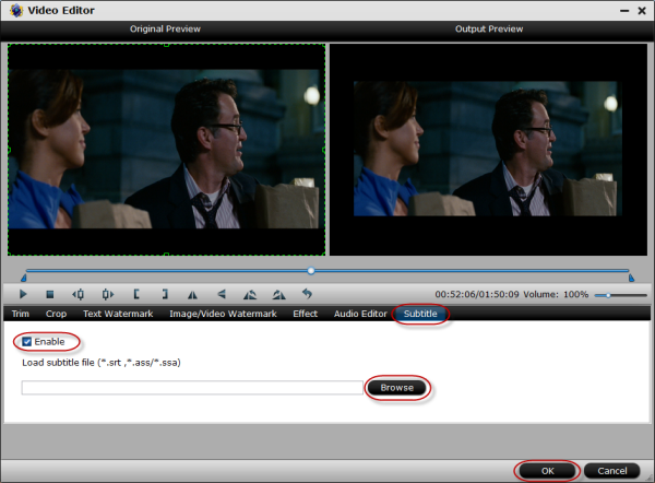 Add and Embed Subtitles into MP4 Files