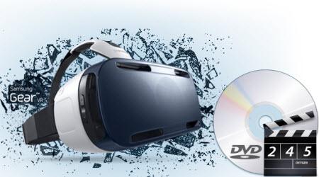 Play DVD on Gear VR (Innovator Edition) through Oculus Cinema