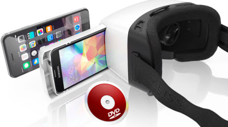 View DVD movies on VR One