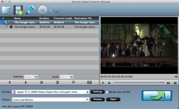 Apple TV Video Format