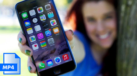 Re-encode unaccepted MP4 to iPhone