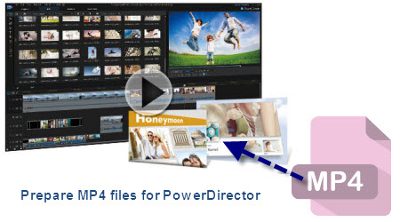 Fix PowerDirector 13/12/11/10 MP4 File Importing Issues