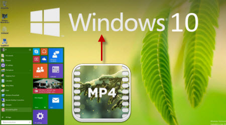 Encode MP4 to Windows 10