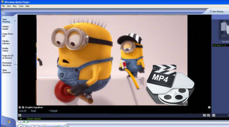 Play MP4 in Windows Media Player