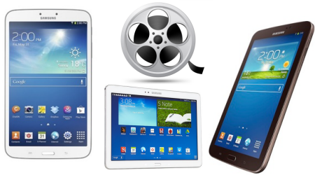 Best Video/Audio Format for Galaxy Tablets and Phones