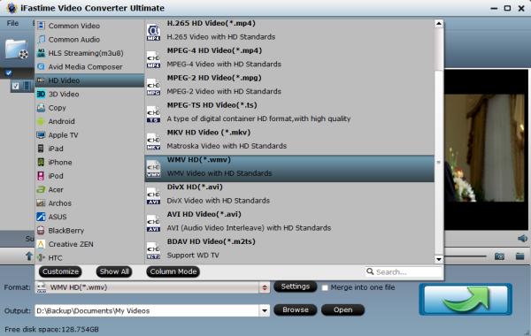 WMC Video Format