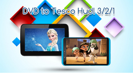 Copy DVD to Tesco Hudl 3/2/1