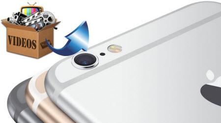 Play H.265/MTS/MXF/Tivo/MKV/WMV/AVI/VOB videos on iPhone 6S (Plus)