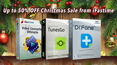 Up to 50% OFF iFastime Christmas Special Offer 2015