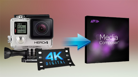 Working GoPro Hero4 4K MP4 Videos with Avid Media Composer