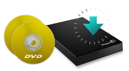 Rip and Copy DVD into 500GB Seagate Portable Hard Drive