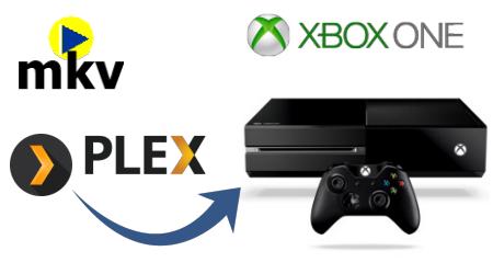 Stream MKV to Xbox One through Plex Media Server