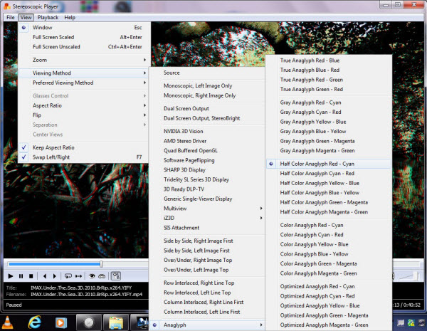 anaglyph 3d movies torrent free download