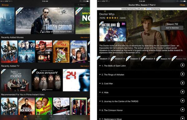 amazon prime instant video pc