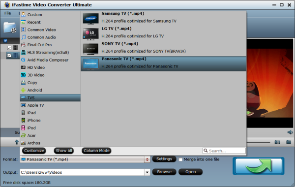 Enable Panasonic (4K UHD) TV to play MP4, MKV, AVI, ISO, Blu
