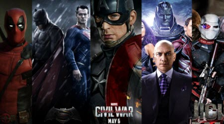 The 8 Most Anticipated Superhero Movies 2016
