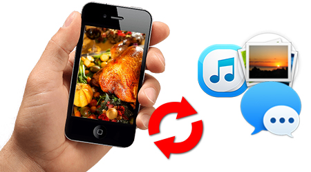 Easily Retrieve Thanksgiving Messages from iPhone 6S/6S Plus/6/5S/5/4S